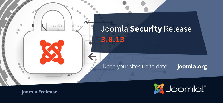 Joomla 3.8.13 Bug Fixes Release