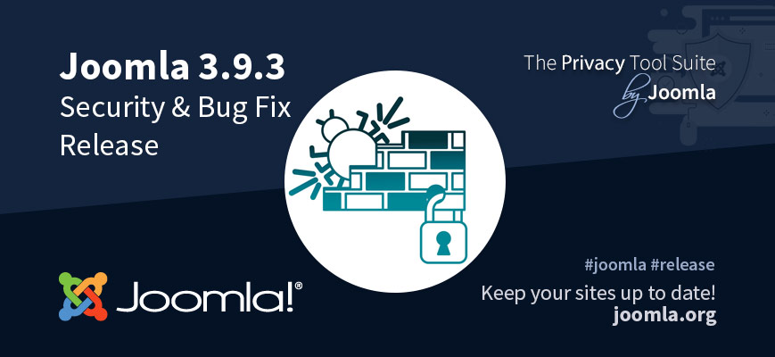 Joomla 3.9.3 Security & Bug Fixes Release