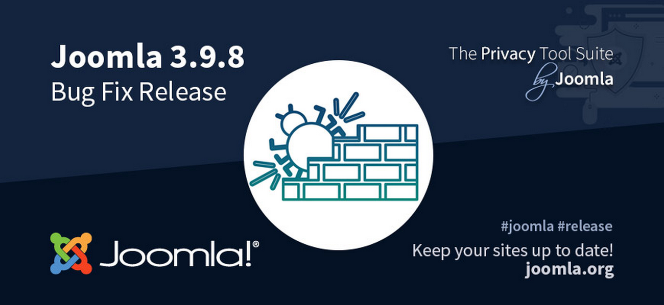 Joomla 3.9.8 Bug Fixes Release
